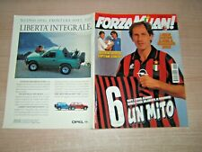 RIVISTA=FORZA MILAN !=N°11 1994=FRANCO BARESI=BOBAN-MALDINI=POSTER G.STROPPA