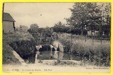 cpa 91 - BURES sur YVETTE (Essonne) La VANNE du MOULIN