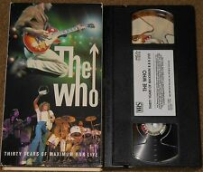 The Who - Thirty Years Of Maximum R&B - Vhs