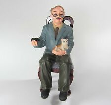 1:12 - Puppenhaus Miniatur Sitz Puppe - GROSSVATER