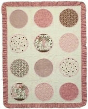 O'Baby Girl Quilt Kit - RJR Baobab Flannel - Pink & Brown Colorway