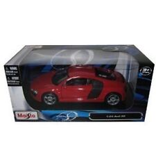 Maisto 2008 Audi R8 Red 1:24 Diecast Car Model