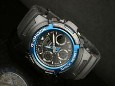 Casio Analog-digital Sport Watch G Shock Black Mens Aw-591-2a