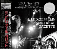 LED ZEPPELIN / MONTREAL GAZETTE 3CD U.S.A Tour June, 7 1972 CANADA