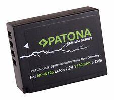 Patona Premium Akku NP-W126 für Fuji-Film  X-Pro2 / X-T1 / X-T2 / X-T10