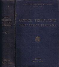 Codice Tributario dell'Africa (Volume II)