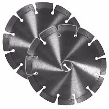 2x Diamant Trennscheibe Diamantscheiben 150mm f. zB Schlitzfräse Bosch GNF 35 CA