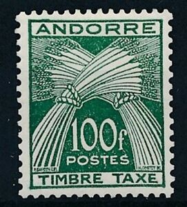 [31971] Andorra Fr. 1946/50 Good postage due stamp Very Fine MH