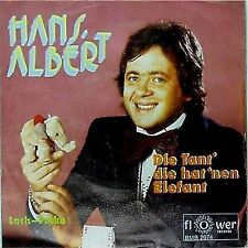 HANS ALBERT 'DIE TANT DIE HAT NEN ELEFANT'  GERMAN IMPORT PICTURE SLEEVE 7""