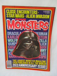Vintage FAMOUS MONSTERS Magazine # 142 Apr 1978 Star Wars 20th Anniversary