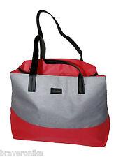 CALVIN KLEIN PINK & GREY LARGE TOTE LADIES PARFUMS BAG. BRAND NEW