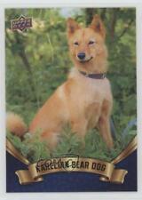 2018 Upper Deck Canine Collection Blue Karelian Bear Dog #219 0n8