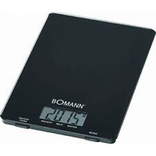 Bomann KW 1515 CB Glas Schwarz Küchenwaage digitale Anzeige bis 5 kg Tragkraft
