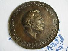 SIEMENS / Anerkennungsmedaille / Bronze ca 19cm Durchmesser ca 750 g