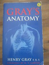 Gray's Anatomy: Classic Illustrated Edition by Henry Gray - printed 1996