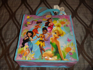 DISNEY FAIRIES BLUE SHOULDER BAG NEW WITH TAGS