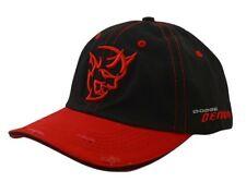 LICENSED BRAND NEW DODGE DEMON DISTRESSED HAT CAP! 840 HP 6.2L HEMI DEMON V8!