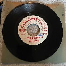 Vic Damone 45rpm Promotional Vinyl Record