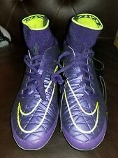 Nike Hypervenom Phantom II AG Soccer Cleats ACC Men's Sz 8.5 Grape 747490-550