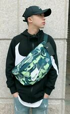 Nike Tech Hip Pack Gym Sack Sports Bag Travel Green Camo Limited Fanny Pack