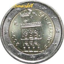 Pièces euro saint marin, année 2002