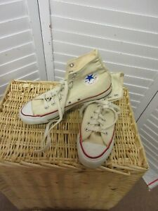 Vintage Converse All Star Chuck Taylor Made In USA Men's High Top Sneakers 8