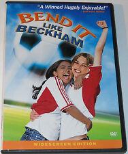 Bend It Like Beckham DVD 2003 Widescreen Parminder Nagra Keira Knightley Used