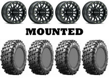 Kit 4 Maxxis Carnivore 32x10-15 on Raceline Podium Beadlock Matte Black CAN
