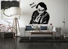 Wall Vinyl Sticker Room Decal Mural Design Art Joker Poker Monster Movie bo1832