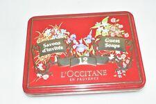 L'OCCITANE 12 x 25 Gramm Gästeseife in Blechdose Vintage Fach D3