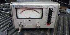 Motorola S1339a Rf Millivoltmeter
