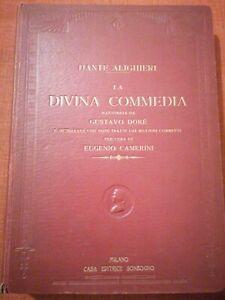 Dante Alighieri, La Divina Commedia, Gustavo Doré, Camerini, Sonzogno, RaRa