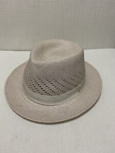 HELEN KAMINSKI - Genuine Panama Hat - Hand Woven - Chalk - OS (57cm)