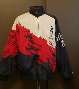 Logo Athletic Atlanta 1996 Olympics Team USA Jacket SZ M