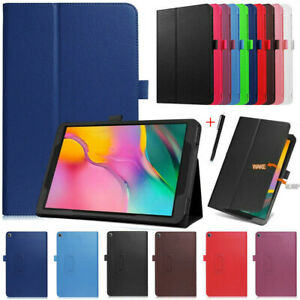For Samsung Galaxy Tab A 10.1 8 8.4 2020/19 Flip Leather Tablet Smart Case Cover