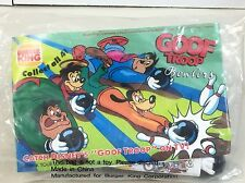 "1992 Disney Burger King Kid's Club ""Goofy"" Goofy Troop Bowler TV Show FREE SHIP"