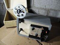 Kodak Brownie 8 Vintage Movie 8MM Film Projector USA Works
