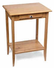 Oak Square Contemporary Side & End Tables with Flat Pack