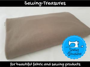 Grey ~ Solid Plain Cotton Lycra Fabric Stretch Knit Fabric