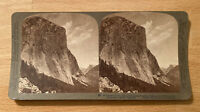 El Capitan to Half Dome and Clouds Rest,Yosemite Valley – 1902 Stereoview Slide