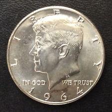 1964-D Kennedy Half Dollar Silver U.S. Coin A5218