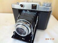 Mamiya 6 6x6,4.5 film folding camera w/Sekor T 75/3.5 lens from Japan Exc++ 2133