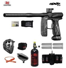 Maddog Empire Axe 2.0 Maddog Elite Hpa Paintball Gun Package Dust Black