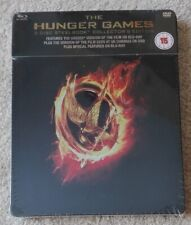 THE HUNGER GAMES STEELBOOK BLU-RAY UK EDITION