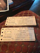 Beach Boys And Chicago Ticket Stub