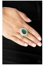 Paparazzi Jewelry Ring ~BAROQUE The Spell - Green~ NWT! Vintage Moonstone! RARE!
