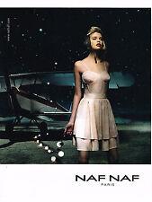Collectibles Publicite Advertising 2011 Naf Naf Pret à Porter