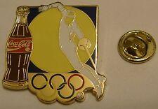 Pins coca cola Olympics Fencing