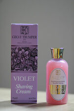 Best duo Geo F Trumper Violet Shave Cream 75g + Coral Skin Food 100ml