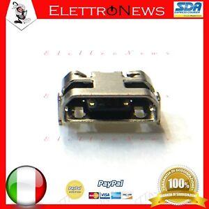Connettore ricarica Micro usb spinotto Lenovo TAB 4 7.0 TB-7304X TB 7304X A003